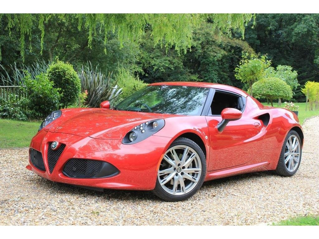2016 Alfa Romeo 4C 1750 TBi TCT 2dr 1.8 RACE EXHAUST, IMMACULATE! For Sale (picture 1 of 1)