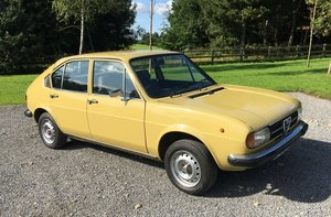 1978 Alfasud 1.3 S Superb condition MOT175 photos For Sale