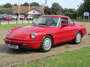 1992 Alfa Romeo 2.0 Spider Series 4 LHD at ACA 24th August  For Sale