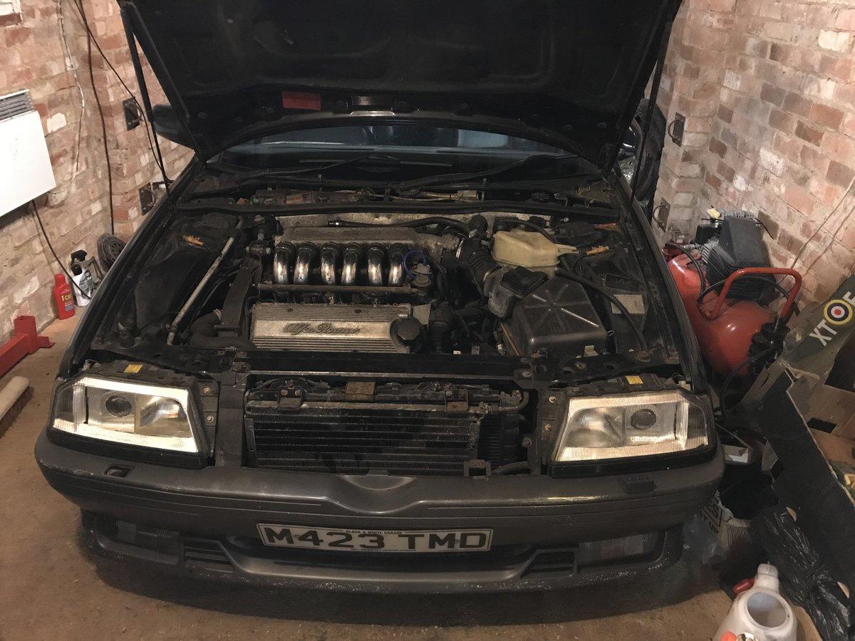 1994 Alfa Romeo 164 qv 3.0 v6 For Sale (picture 1 of 4)