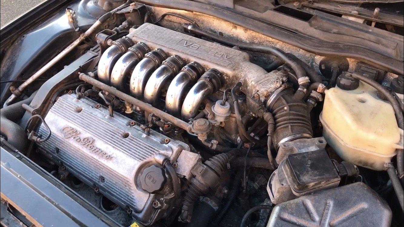 1994 Alfa Romeo 164 qv 3.0 v6 For Sale (picture 3 of 4)