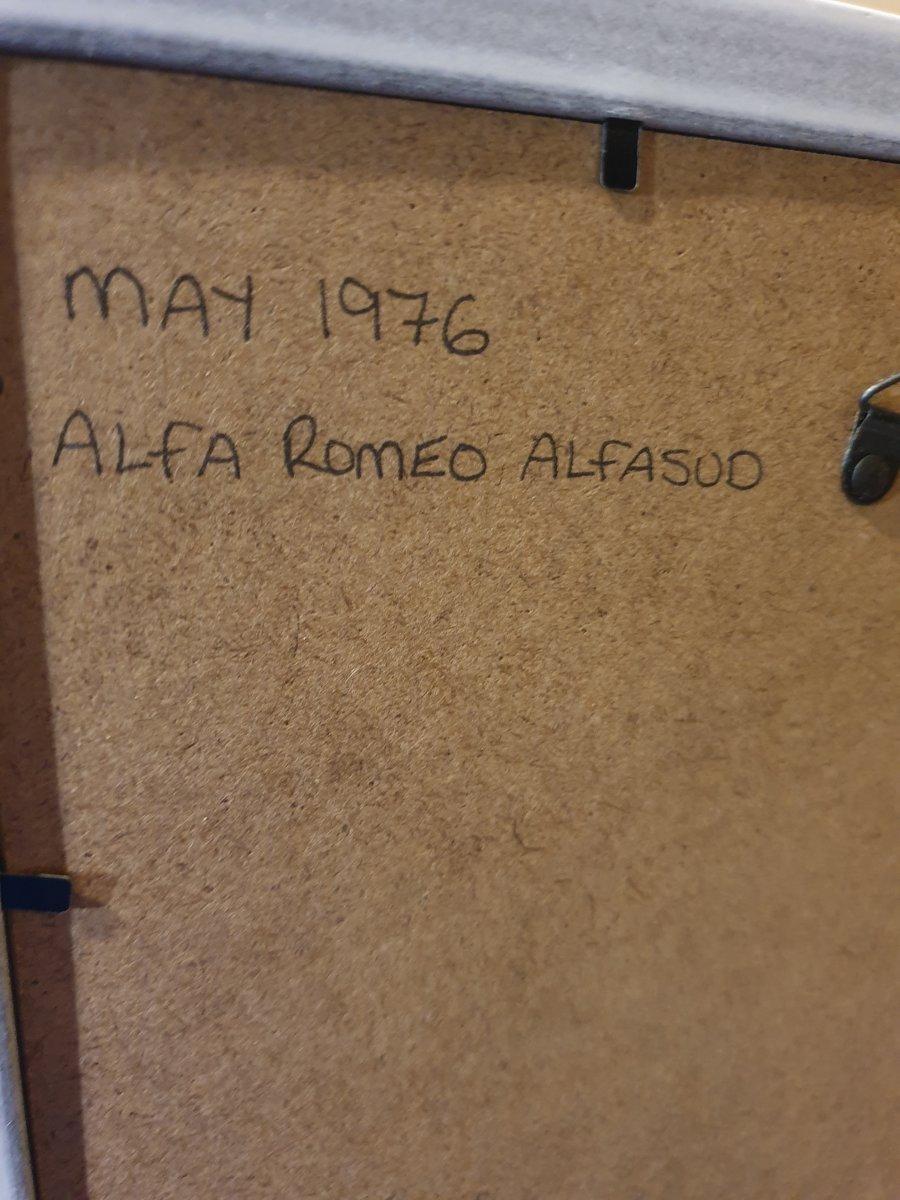 1976 Alfasud Advert Original  For Sale (picture 2 of 2)