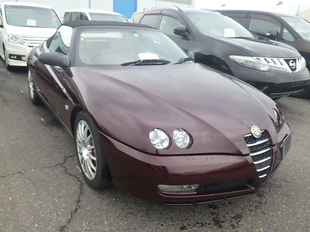 2004 ALFA ROMEO SPIDER 916 3.2 V6 24V MANUAL CONVERTIBLE For Sale (picture 1 of 5)