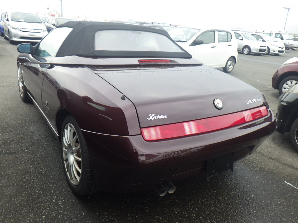 2004 ALFA ROMEO SPIDER 916 3.2 V6 24V MANUAL CONVERTIBLE For Sale (picture 2 of 5)