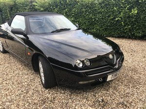 1999 Spider super example Black with Black Leather 54K For Sale