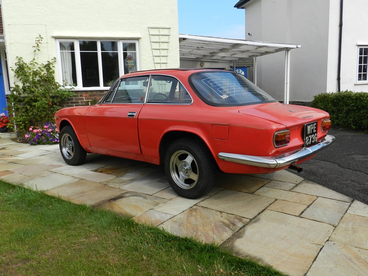 Alfa Romeo 1300 GT Junior 1968 - To be auctioned 25-10-19 For Sale by Auction (picture 2 of 6)