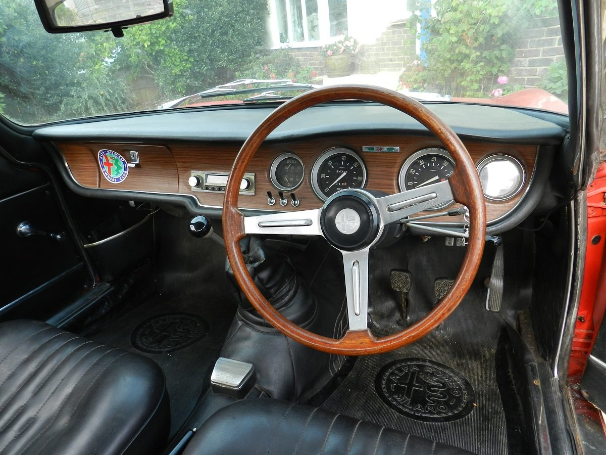 Alfa Romeo 1300 GT Junior 1968 - To be auctioned 25-10-19 For Sale by Auction (picture 3 of 6)