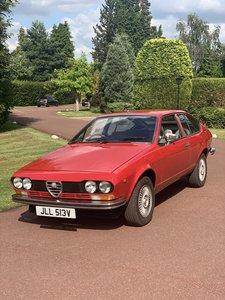 1979 Alfa Romeo Alfetta GTV 2.0