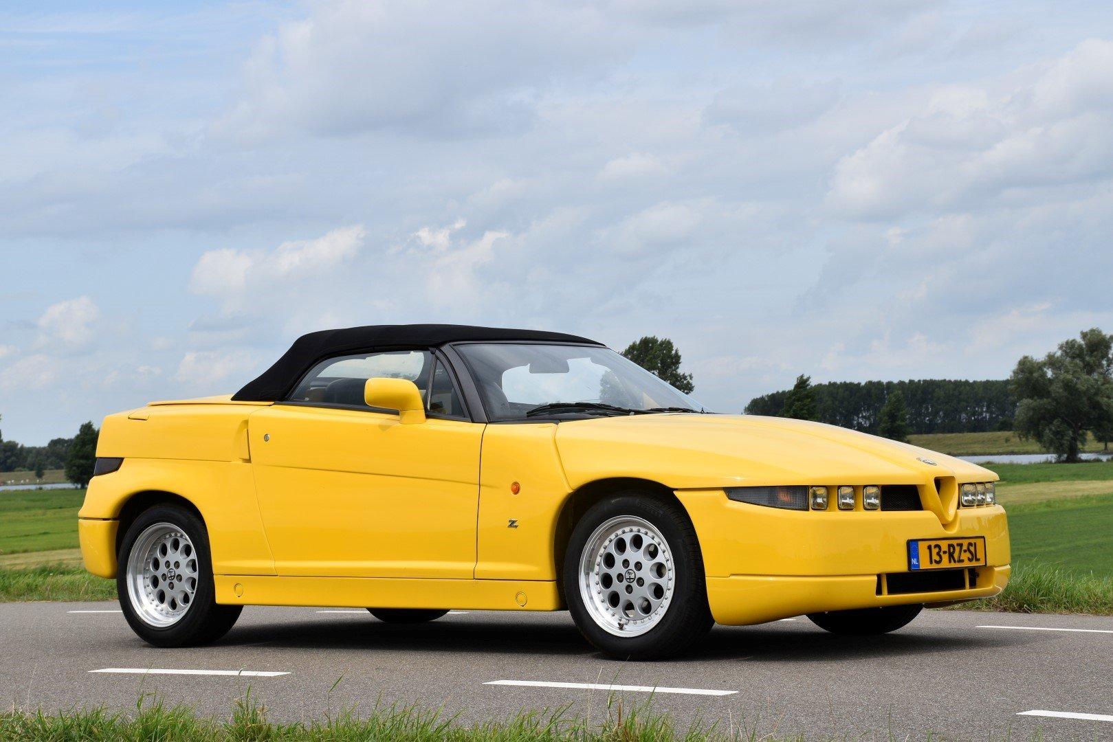 1995 Alfa Romeo Roadster Zagato For Sale (picture 1 of 6)