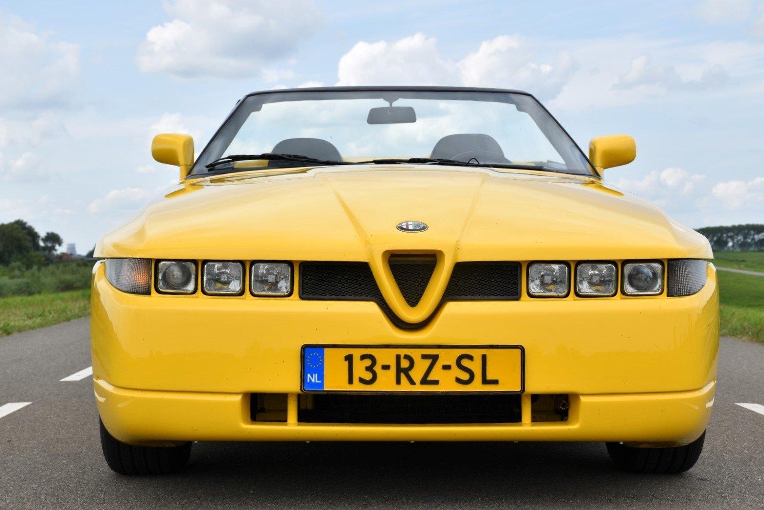 1995 Alfa Romeo Roadster Zagato For Sale (picture 2 of 6)