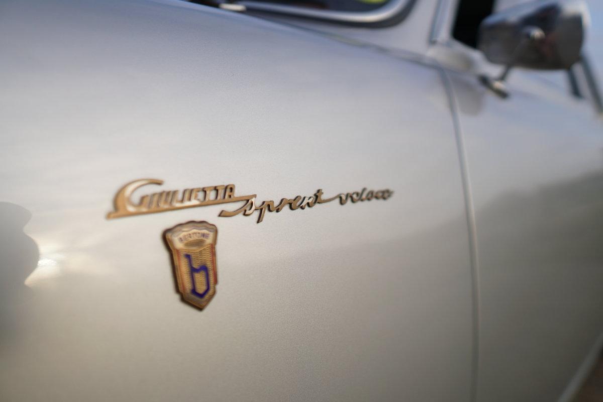 1957 Alfa Romeo Giulietta Sprint Veloce Alleggerita For Sale (picture 5 of 6)
