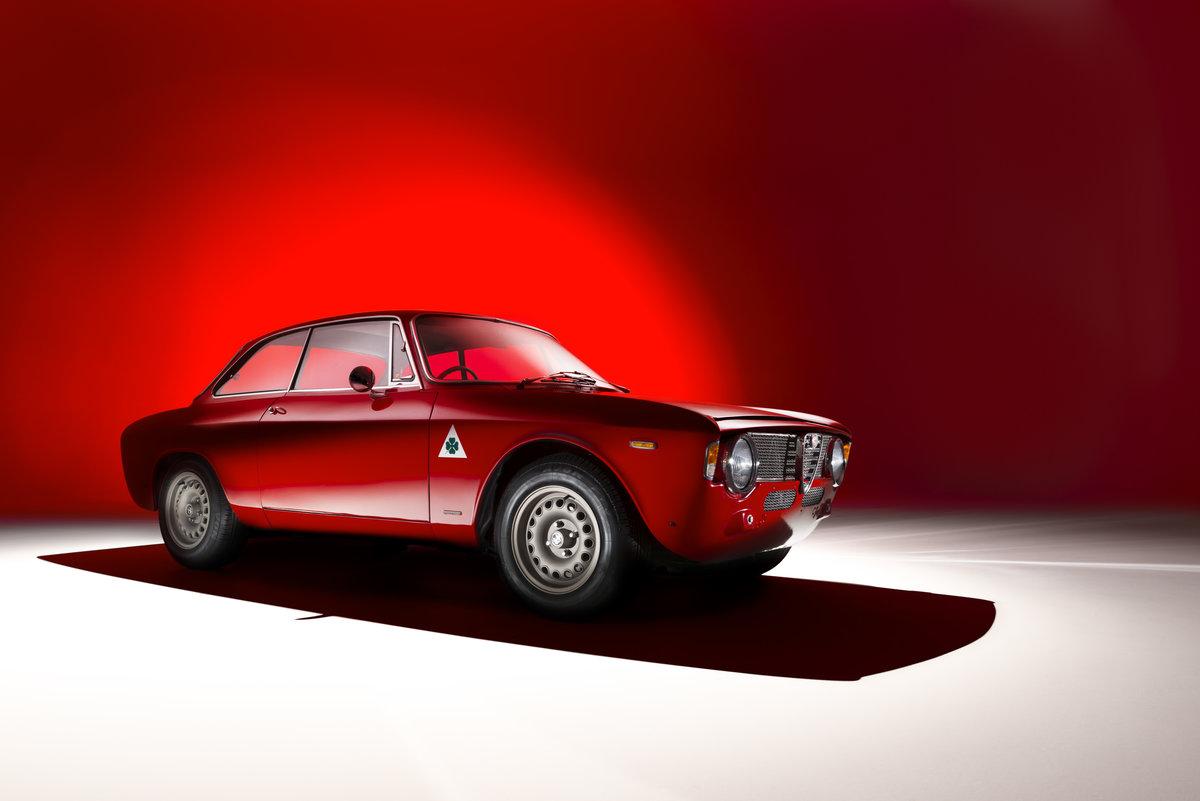1966 Alfa Romeo Giulia Sprint GT Stradale RHD For Sale (picture 1 of 6)