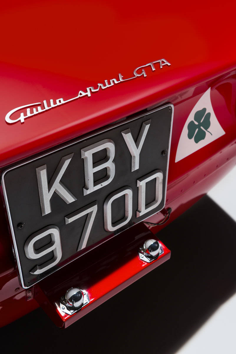 1966 Alfa Romeo Giulia Sprint GT Stradale RHD For Sale (picture 6 of 6)