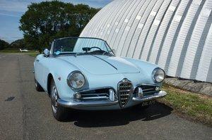 1960 Giulietta Spider Veloce For Sale