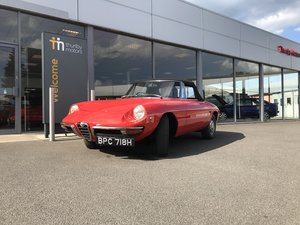 1970 Alfa Romeo Spider 1300 Junior (Roundtail) For Sale