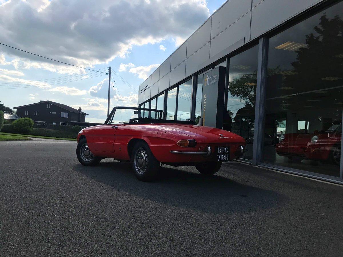 1970 Alfa Romeo Spider 1300 Junior (Roundtail) For Sale (picture 5 of 5)