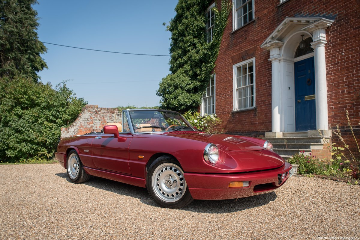 Alfa Romeo Spider 2.0 1991 For Sale (picture 6 of 24)