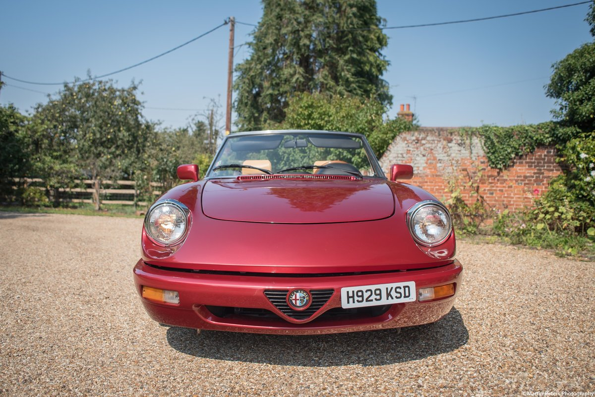 Alfa Romeo Spider 2.0 1991 For Sale (picture 8 of 24)