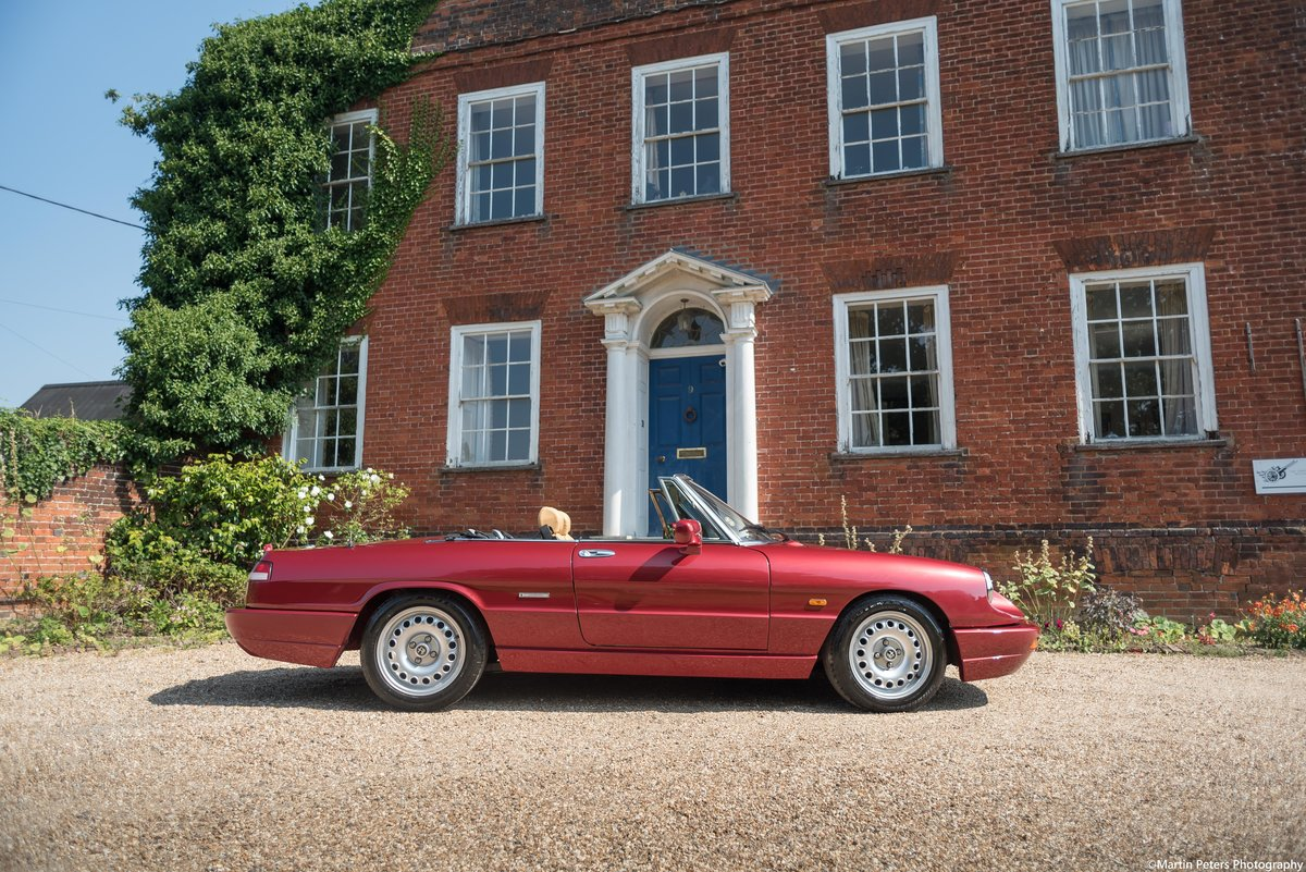Alfa Romeo Spider 2.0 1991 For Sale (picture 10 of 24)
