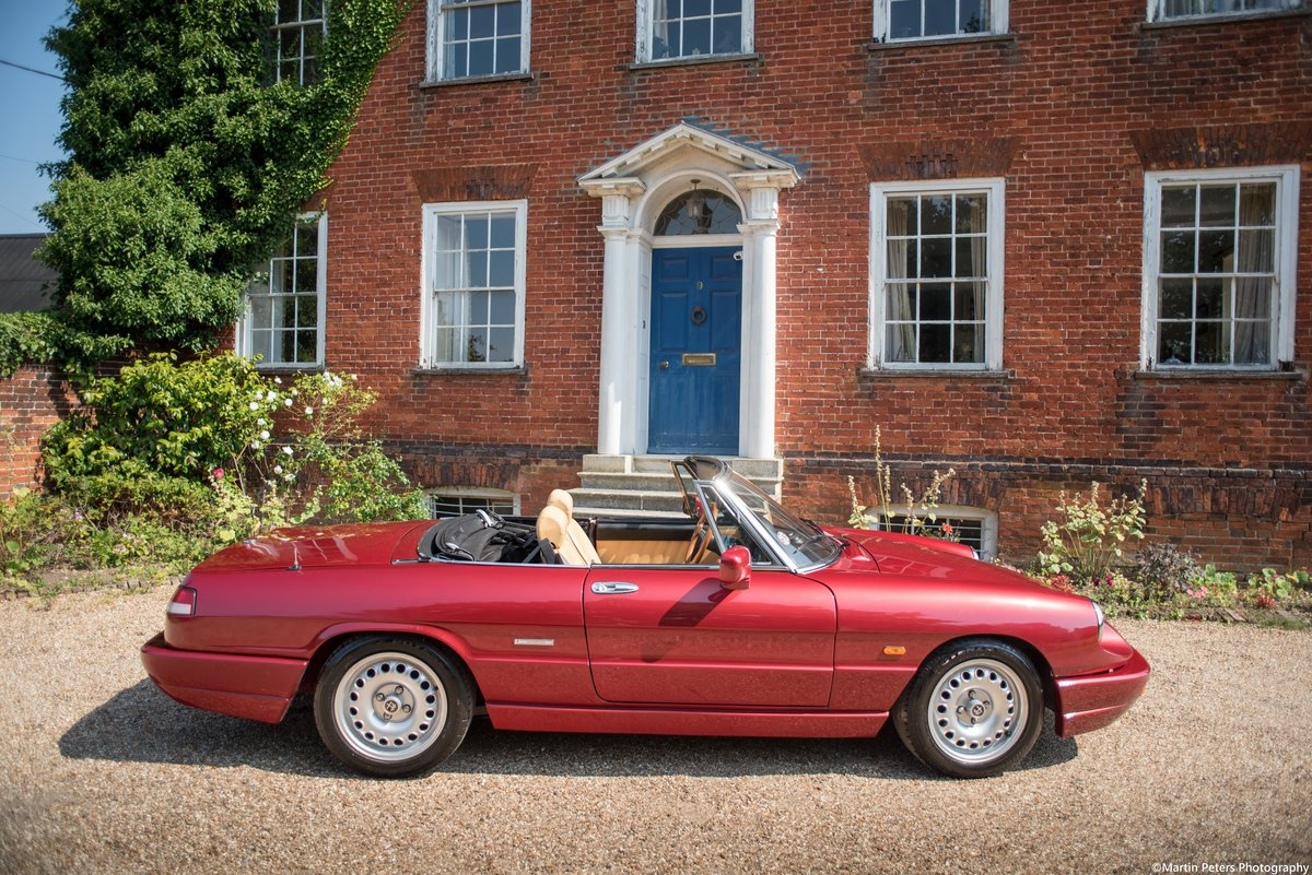Alfa Romeo Spider 2.0 1991 For Sale (picture 15 of 24)