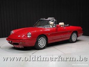 1990 Alfa Romeo Spider 4 2.0 '90 For Sale