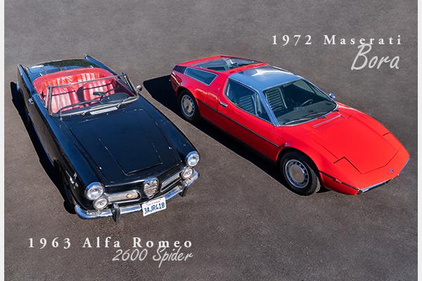 1963 Alfa Romeo 2600 Spider = Convertible Rare Correct 2600 For Sale (picture 1 of 3)