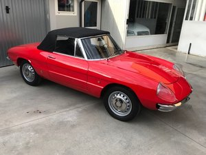 1968 Alfa Romeo Spider Duetto 1600 For Sale