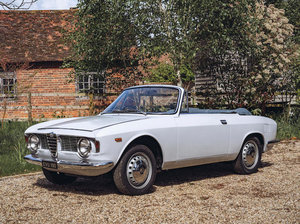1966 ALFA ROMEO GIULIA GTC CABRIOLET For Sale by Auction