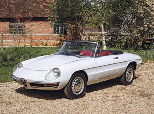 1969 ALFA ROMEO 1750 DUETTO SPIDER VELOCEQ For Sale by Auction
