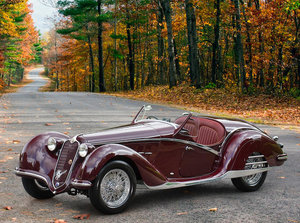 1939 ALFA ROMEO 6C 2300B SHORT-CHASSIS SPIDER For Sale by Auction