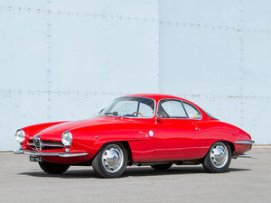 1961 ALFA ROMEO GIULIETTA SPRINT SPECIALE COUPÉ For Sale by Auction