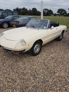 1972 Spider Very Low Mileage RHD