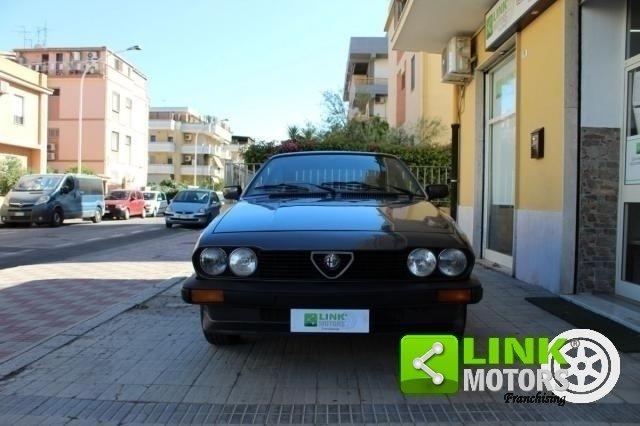 Alfa Romeo GTV 1984 ISCRITTA ASI For Sale (picture 3 of 6)