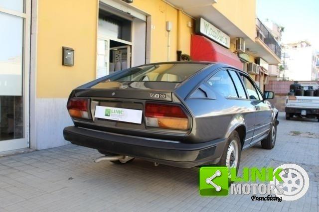Alfa Romeo GTV 1984 ISCRITTA ASI For Sale (picture 5 of 6)