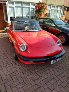 1984 Spider Good usable car -requires some work for MOT