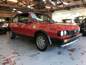 1983 Alfasud qv ti Rare and desirable