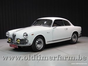 1963 Alfa Romeo Giulietta Sprint 1600 '63 For Sale
