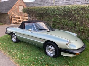 Alfa Romeo Spider Last family owner 21 years For Sale