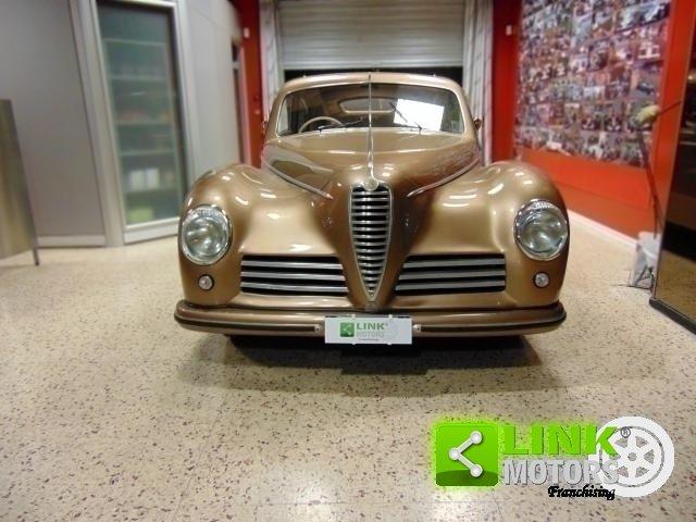 ALFA ROMEO 6C 2500 Freccia d'Oro, anno 1948, Targa Oro ASI, For Sale (picture 3 of 6)