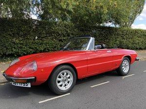 1977 Alfa Spider 2000CC