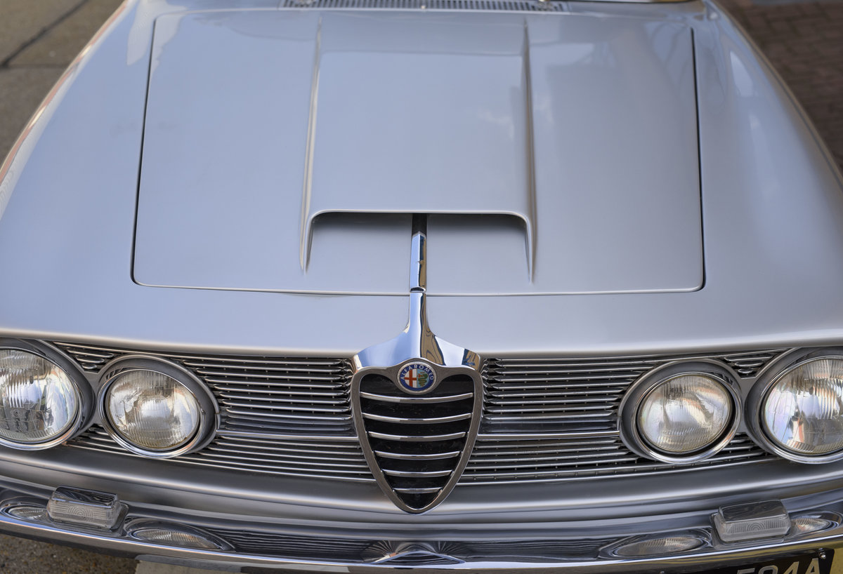 1963  Alfa Romeo 2600 Sprint Coupe By Bertone (LHD)  For Sale (picture 11 of 22)