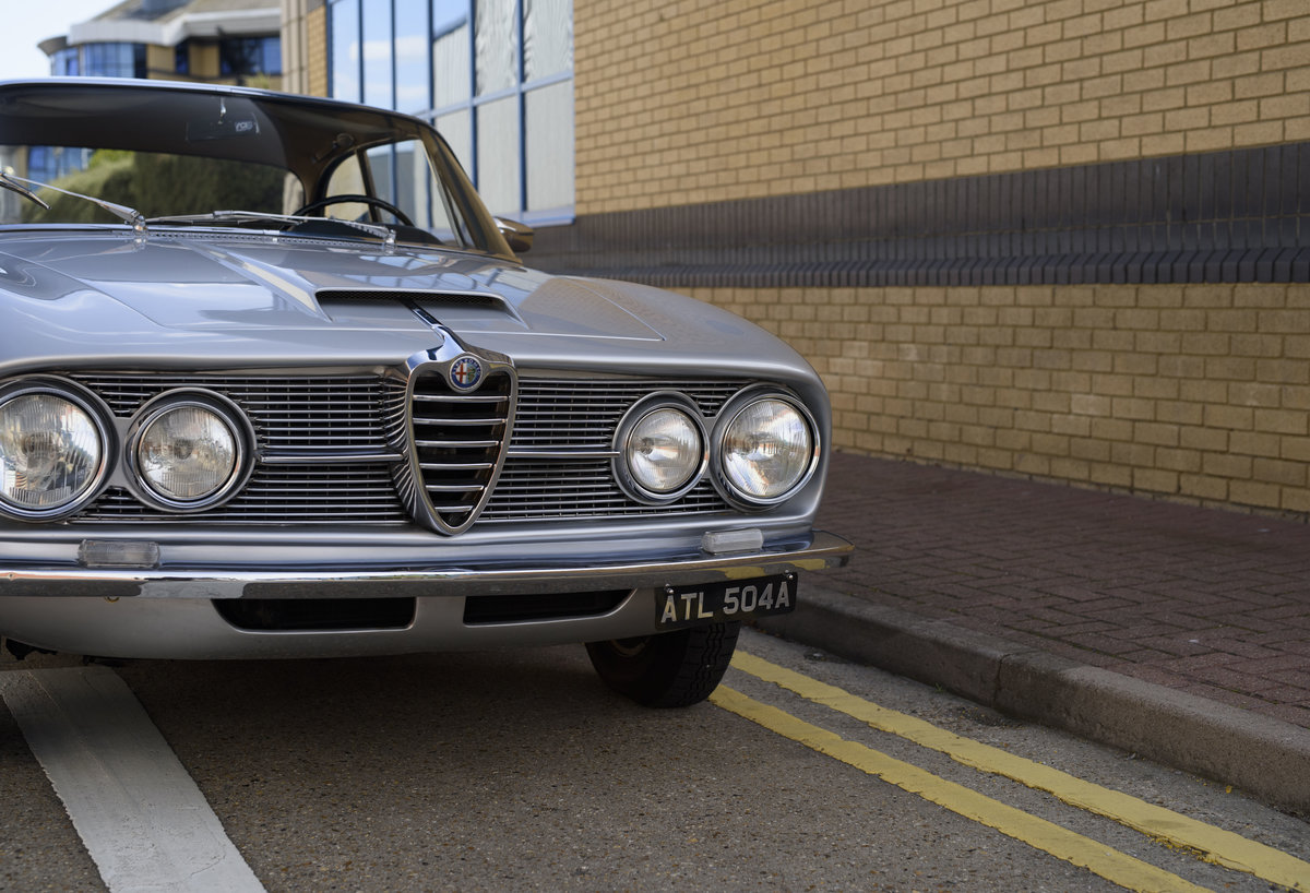 1963  Alfa Romeo 2600 Sprint Coupe By Bertone (LHD)  For Sale (picture 12 of 22)