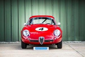 1960 Alfa Romeo Giulietta SZ2 Coda Tronca Zagato