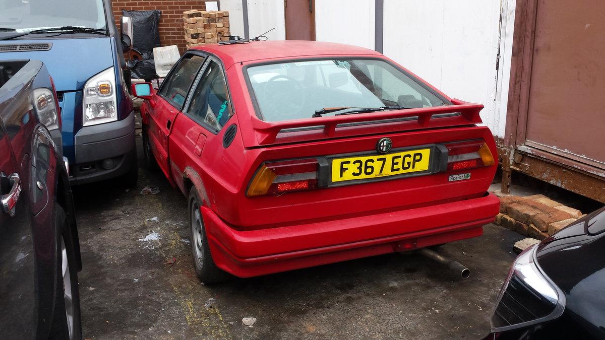 1988 Alfasud Sprint Veloce Cloverleaf 1.7 Zender For Sale (picture 1 of 5)