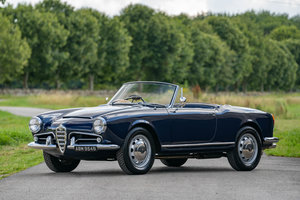1964 Alfa Romeo Giulia Spider - UK RHD Example
