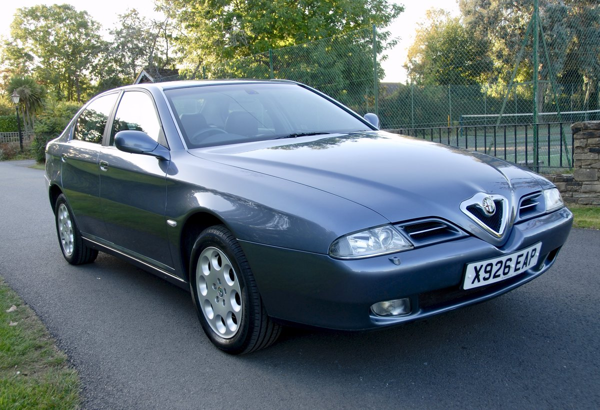 2001 Alfa Romeo 166 Twin-Spark Lusso 37,500 miles For Sale (picture 1 of 6)