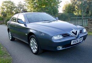 2001 Alfa Romeo 166 Twin-Spark Lusso 37,500 miles