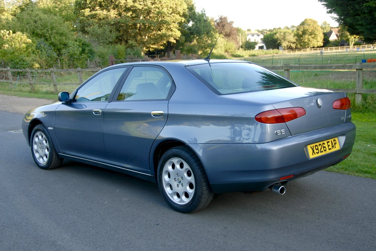 2001 Alfa Romeo 166 Twin-Spark Lusso 37,500 miles For Sale (picture 2 of 6)