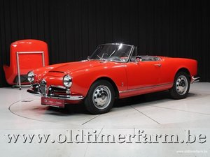 1964 Alfa Romeo 1600 Giulia Spider '64 For Sale