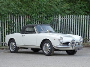 1964 Alfa Romeo Giulia 1600 Spider For Sale by Auction